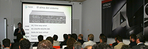 Charmex Valencia organized a training event to showcase the most innovative AV solutions