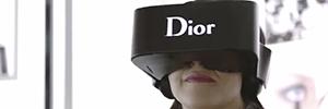Dior Eyes, el nuevo casco de realidad virtual que marca tendencia en el entorno de la moda
