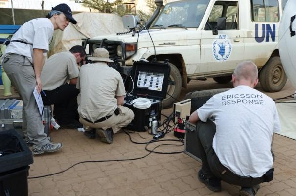Ericsson Response ayuda a Sudan