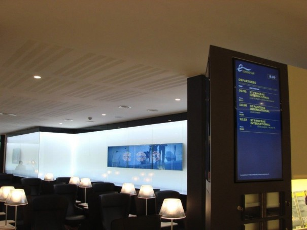 Eurostar Bruselas AV Solutions-Signagelive-Samsung