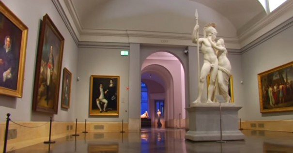 Museo del Prado iluminacion Led