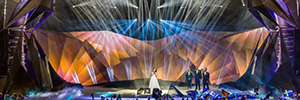 Osram, through its subsidiary Clay Paky, illuminate the Eurovision Song Contest 2015