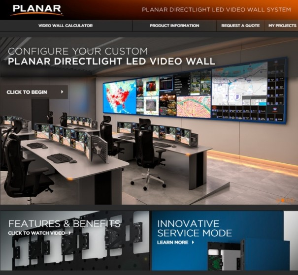 Planar calculadora DirectLight Led Video Wall