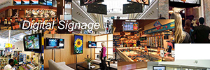 Smart displays and digital signage technology achieves the 4.0 Retail