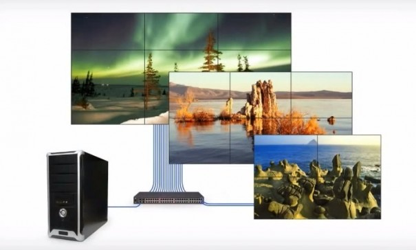 Userful Network Video Wall
