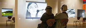 El SMK apuesta por las pantallas dnp Ultra Contrast para su exposición de arte experimental