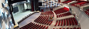 DTS installs its systems of mobile lighting in the Auditorium of the Penza Concert Hall of Russia