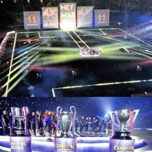 Eikonos fiesta triplete Camp Nou