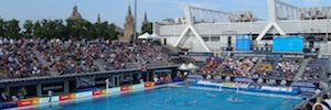 Eikonos vuelve a ofrecer su experiencia AV en la Copa Len Final Six 2015 de waterpolo