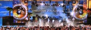 Wet Electric Festival 2015 monta su escenario en el agua con sistemas de Elation Professional