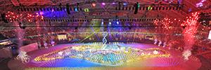 Hexogon, con la ayuda de los proyectores de Christie, entra en el Guinness World Record