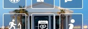 IP+D Hospitality Solutions aporta al balneario resort Las Arenas su propia red social