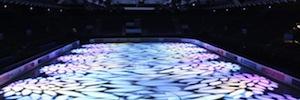 La final de patinaje artístico sobre hielo se ilumina con los sistemas de Vari-Lite