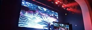 Elation refuerza con paneles Led e iluminación espectacular los conciertos de la sala Livewire