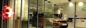 Mira DSS introduce en España las nuevas pantallas Led transparentes de E-Like Tech