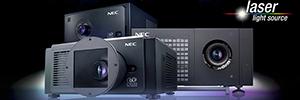 NEC Display mostrará en CineEurope 2015 su oferta para proyección láser y 4K