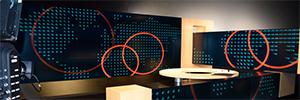 Los tres videowalls del nuevo plató de Arte TV News crean una experiencia envolvente