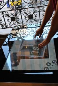 Rodilla mesa interactiva