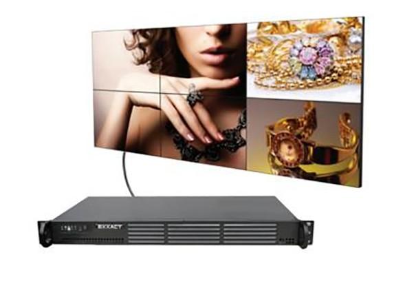 Videowall Exxact MPX3000 con Matrox C680