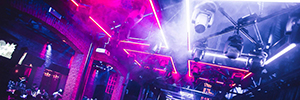 Red & Blue Nightclub in Antwerp installs a spectacular lighting with Elation design