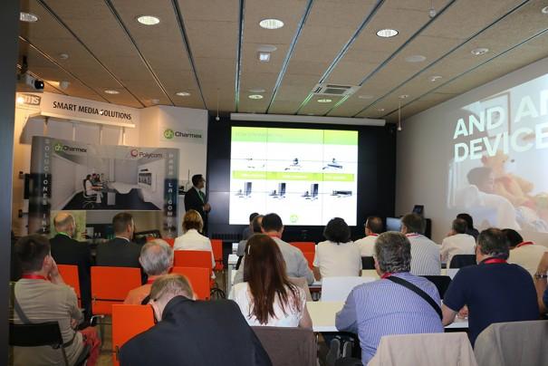 Charmex Polycom evento Barcelona