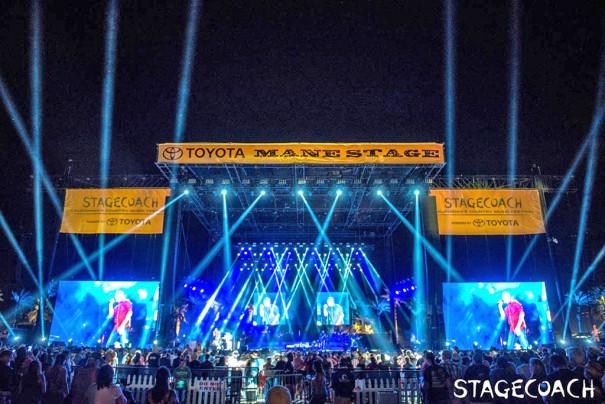 Elation en Stagecoach Festival