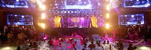 Iluminación espectacular y eficiente de Elation para la discoteca XS Nightclub Las Vegas