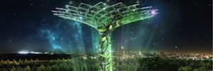 Italy becomes the symbol of the Universal exhibition of Milan the interactive installation 'Tree of life'