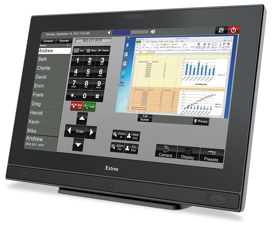 Extron TouchLink touchpanels develops Pro 15 and 12
