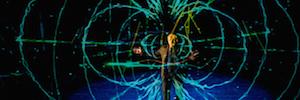 El sistema Holo-Gauze conmemora con efectos 3D el centenario de la teoría de la relatividad de Einstein