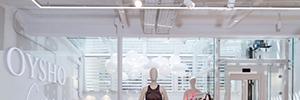 Oysho confía en la iluminación de Lledó para su nueva flagship store de Barcelona