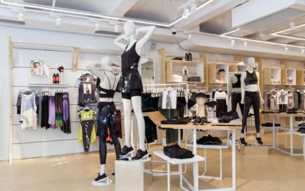 Iluminacion Lledo flagship store Oysho Barcelona