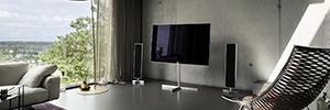 Loewe Reference 55 con pantalla Ultra HD y un óptimo sonido