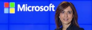 Microsoft Ibérica da hoy la bienvenida a su nueva presidenta
