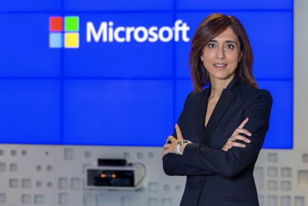 Microsoft Iberica Pilar Lopez presidenta