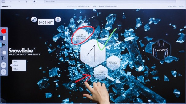 Nuiteq Snowflake Clevertouch Charmex