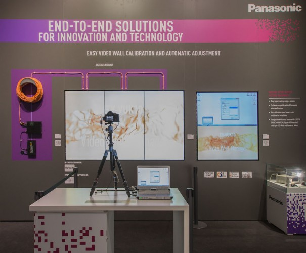 Panasonic Video Wall Manager Auto Camera Adjustment