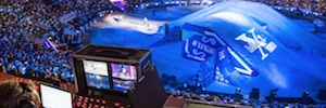 Red Bull X-Fighters bet again by Riedel technology for your event in Las Ventas