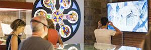 Samsung pone su tecnología al servicio de Gaudí Exhibition Center en Barcelona