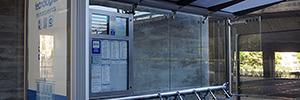 La EMT equipa sus marquesinas con NFC y QR, tecnologías base del proyecto Smart Madrid