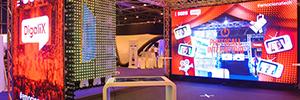 Sono y Digalix crearon un espacio multi-pantalla interactivo para Evento Days 2015