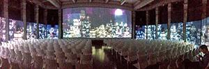 Un espectacular montaje audiovisual acompaña a la presentación de productos de Niessen