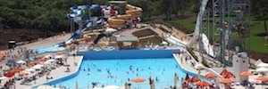Los sistemas de audio por IP de Work Pro se despliegan en el parque acuático Istralandia