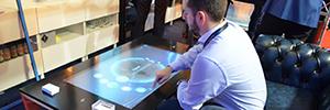 La tecnología PCT de Zytronic es utilizada en una mesa multi-táctil pensada para grandes espacios