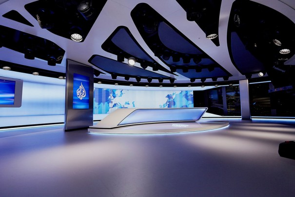 eyevis videowall en TV Studio