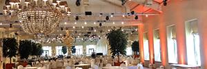 La Quinta del Jarama ilumina su gran salón con Acme y Martin Professional