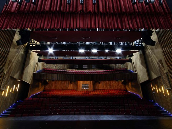 DAS Audio en Auditorio Chiapas Belisario Dominguez