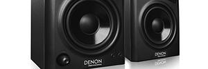 Denon DN-304S: altavoces autoamplificados para producción multimedia, educación y empresa