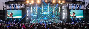 Elation proporcionó una espectacular iluminación para el concierto Wango Tango