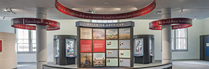 AV technology helps to understand the history of immigration at Ellis Island museum